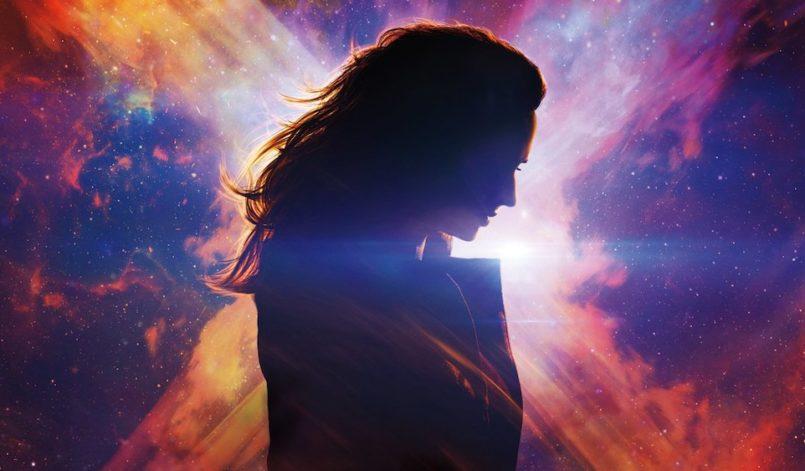 Sophie Turner als Jean Grey in einem Poster für Kritik X-Men Dark Phoenix