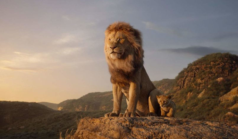 Mufasa (James Earl Jones) und Simba (JD McCrary)
