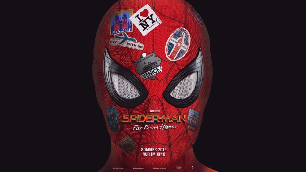 Titelbild Spider-Man: Far from Home mit Spider-Man Tom Holland)