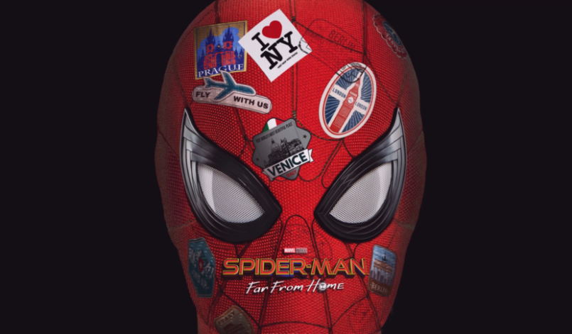 Titelbild Spider-Man: Far from Home mit Spider-Man Tom Holland)
