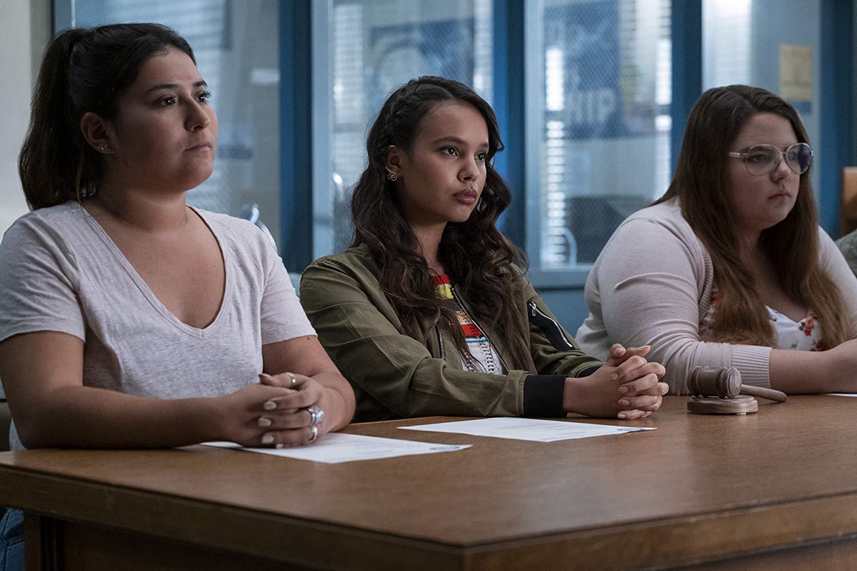 Jessica Davis (Alisha Boe) in der dritten Staffel von Tote Mädchen lügen nicht.