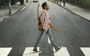 Poster für Yesterday auf der Abbey Road mit Himesh Patel