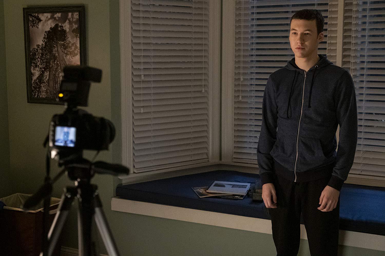 Tyler Down (Devin Druid) in der dritten Staffel von Tote Mädchen lügen nicht.