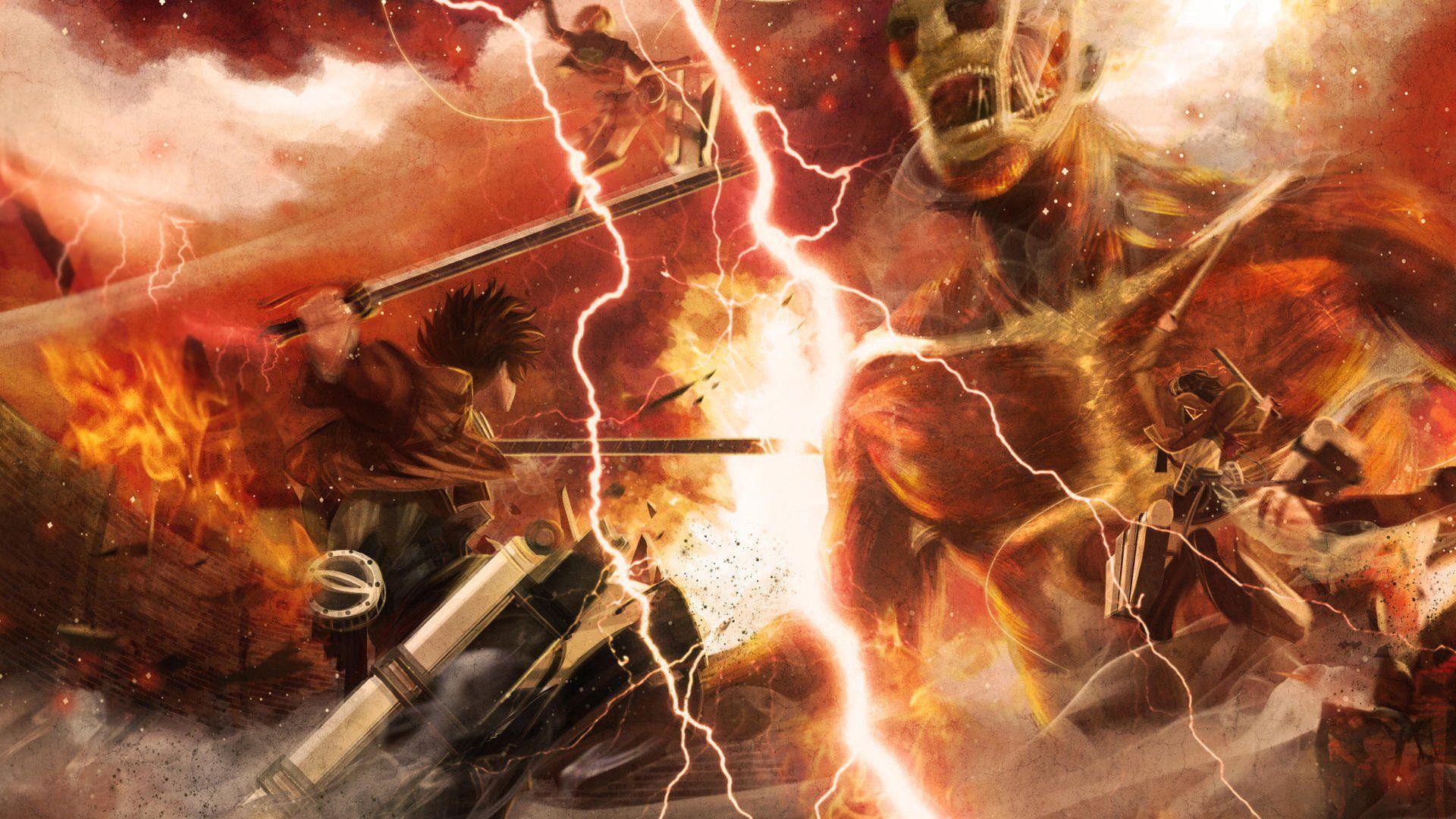 Wallpaper für Attack on Titan für Topliste Top 5 Animes für Einsteiger
