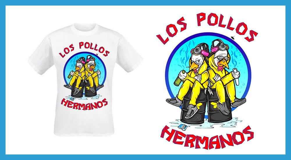 Los Pollos Hermanos T-Shirt auf EMP zum Film El Camino