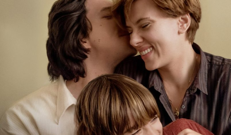 Adam Driver, Scarlett Johansson und Azhy Robertson in Marriage Story