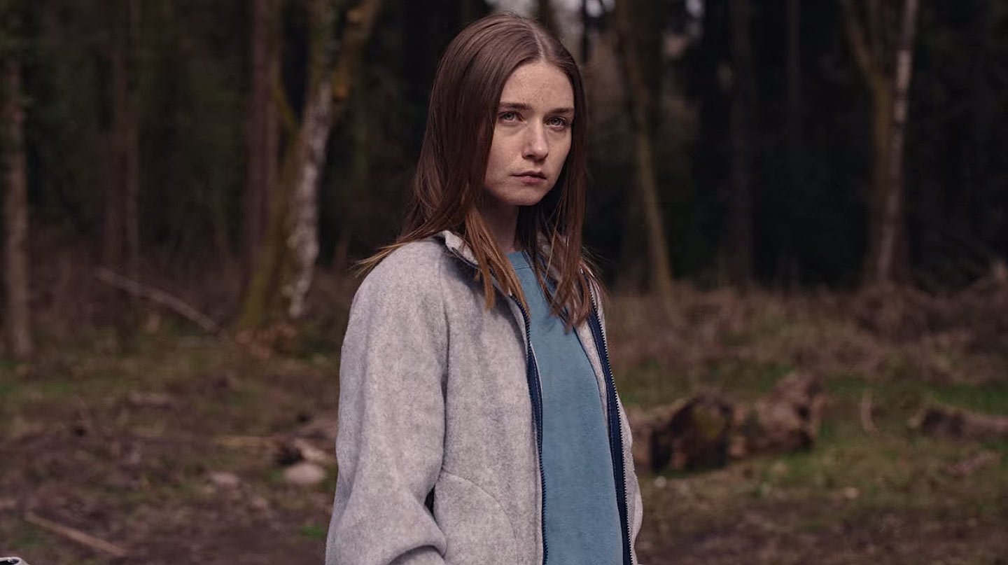 Jessica Barden als Alyssa in der zweiten Staffel von The End of the Fucking World.