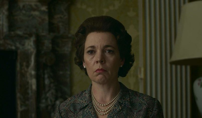 Olivia Colman als Queen Elizabeth II in The Crown.