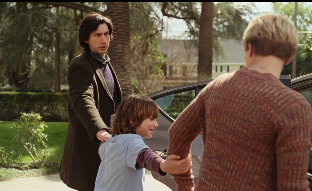 Scarlett Johansson, Adam Driver und Azhy Robertson in Marriage Story