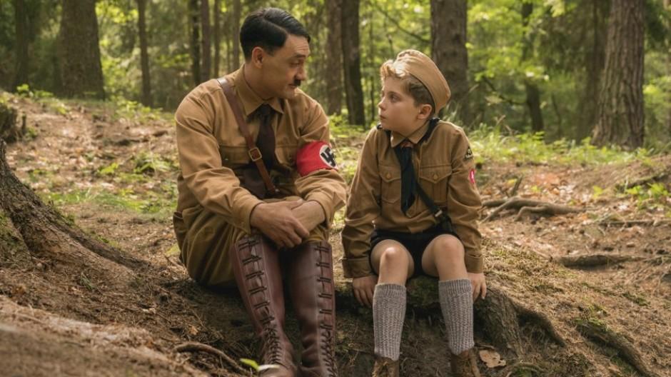 Der imaginäre Freund Hitler dient Jojo als Vorbild und Unterstützung... zumindest am Anfang.