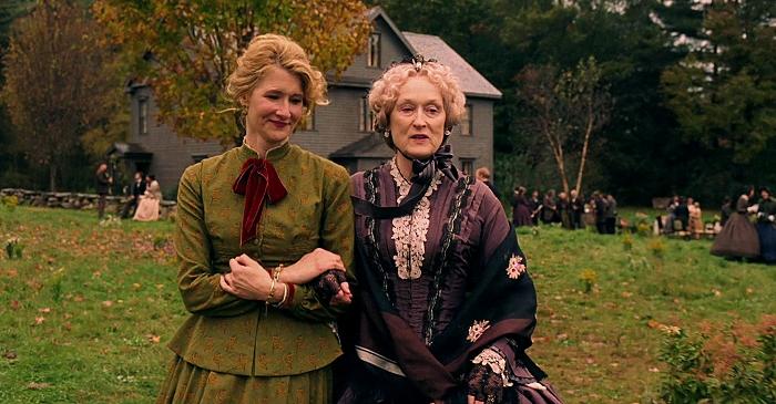 Laura Dern und Meryl Streep in Little Women