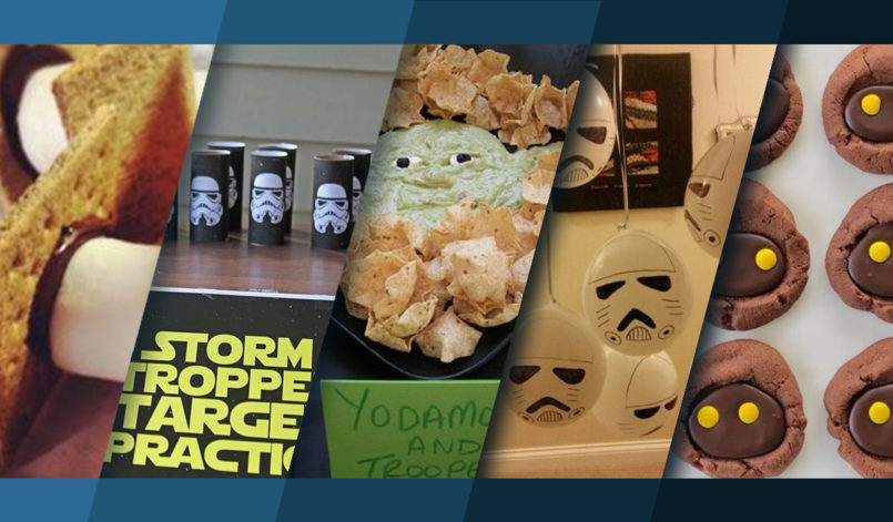 Titelbild Topliste Star Wars Party
