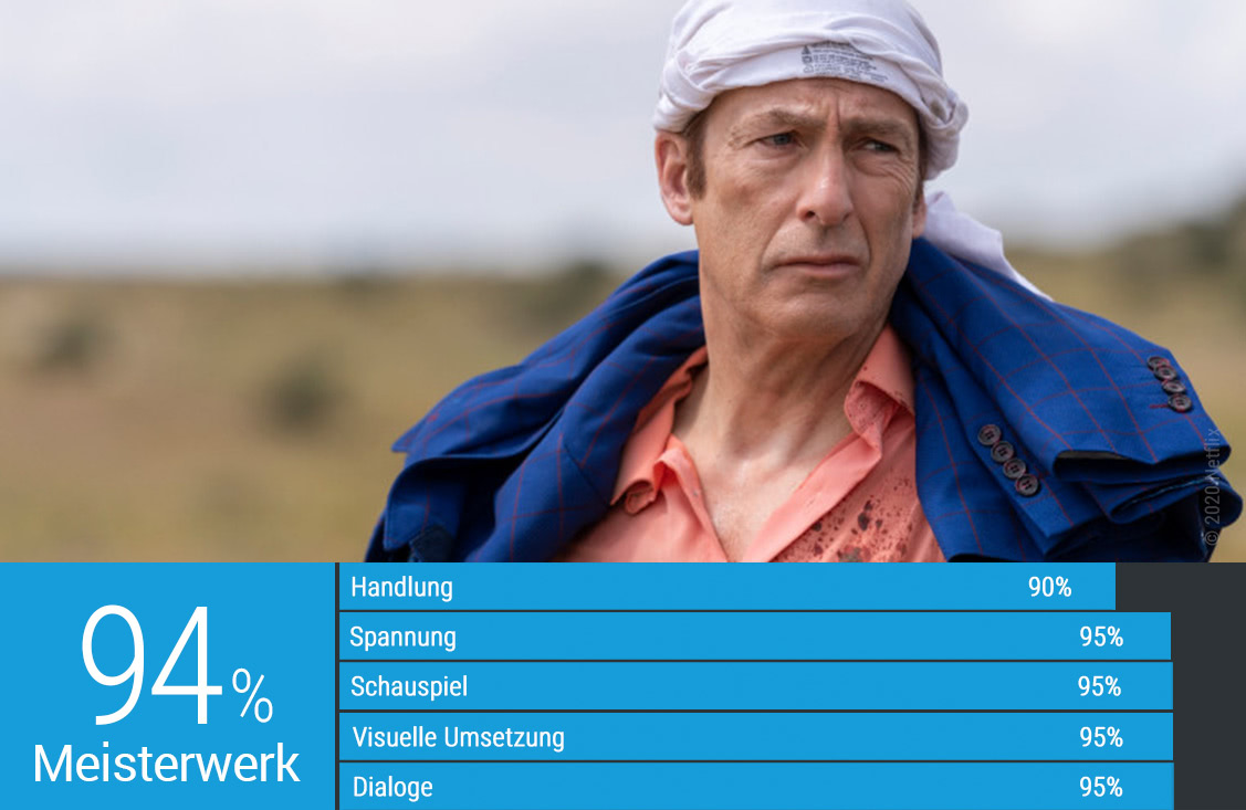 Bewertung Mittelsmann Bagman der fünften Staffel Better Call Saul