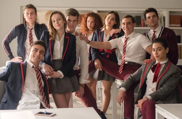 Élite-Cast aus Staffel 3