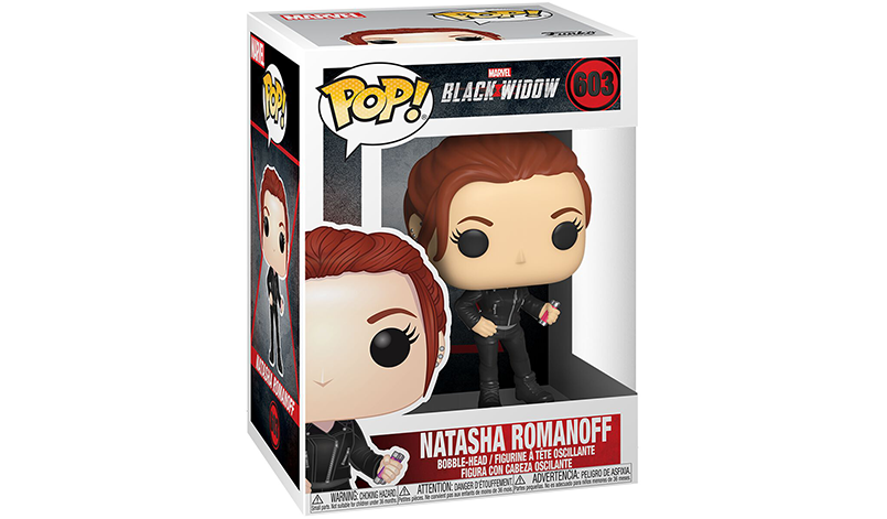 Black Widow Natasha Romanov als Funko Pop Figur