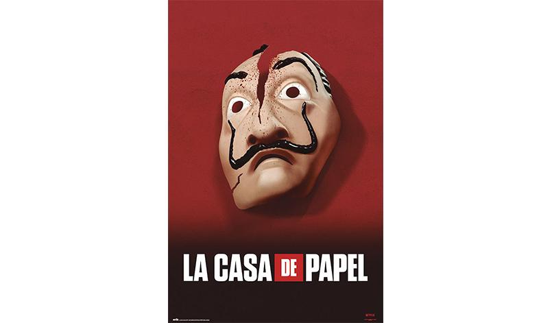 Dali Salvador Maske Poster von Haus des Geldes