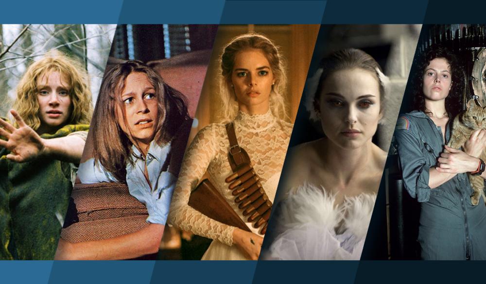 Titelbild für Topliste Die besten Horrorfilme mit starken Frauen
