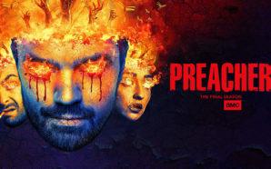 """Plakat zu der Serie """"Preacher"""" - Staffel 4"""