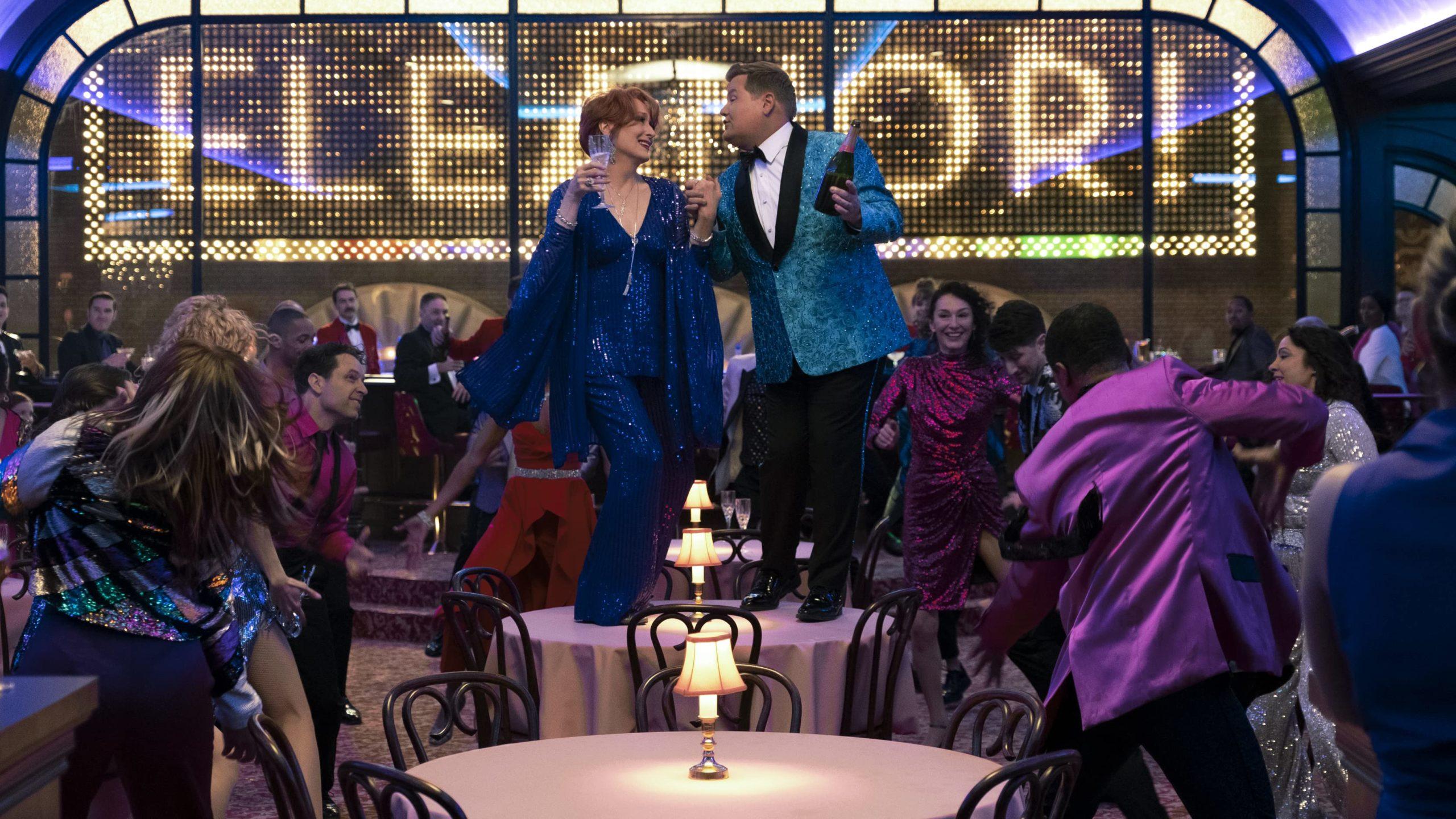 Meryl Streep und James Corden in The Prom