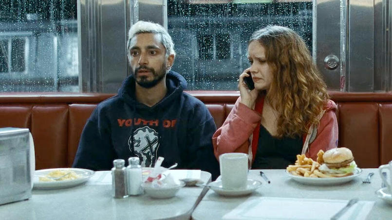 Riz Ahmed und Olivia Cooke in einem Szenenbild aus Sound of Metal