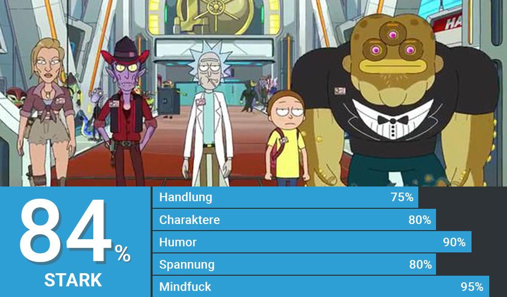 Rick und Morty haben ein Heist-Team zusammengestellt