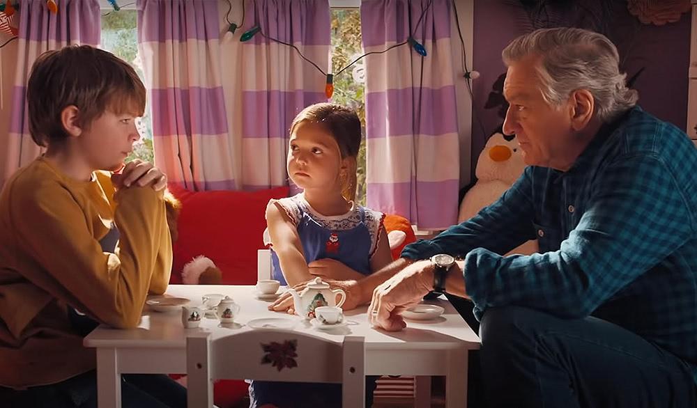 Grandpa Ed beim Friendensgespräch mit Enekel Peter