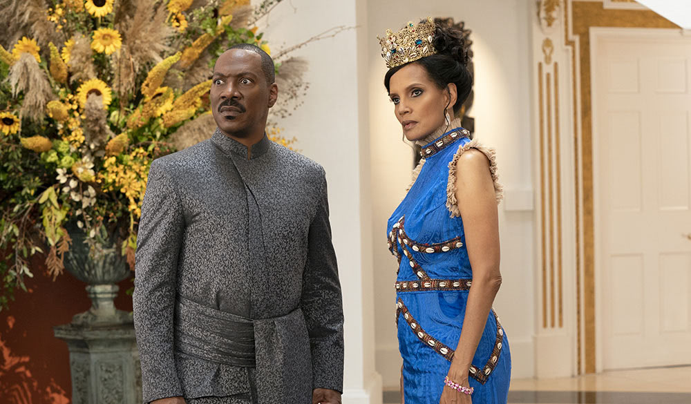 Eddie Murphy und Shari Headley in Der Prinz aus Zamunda 2.