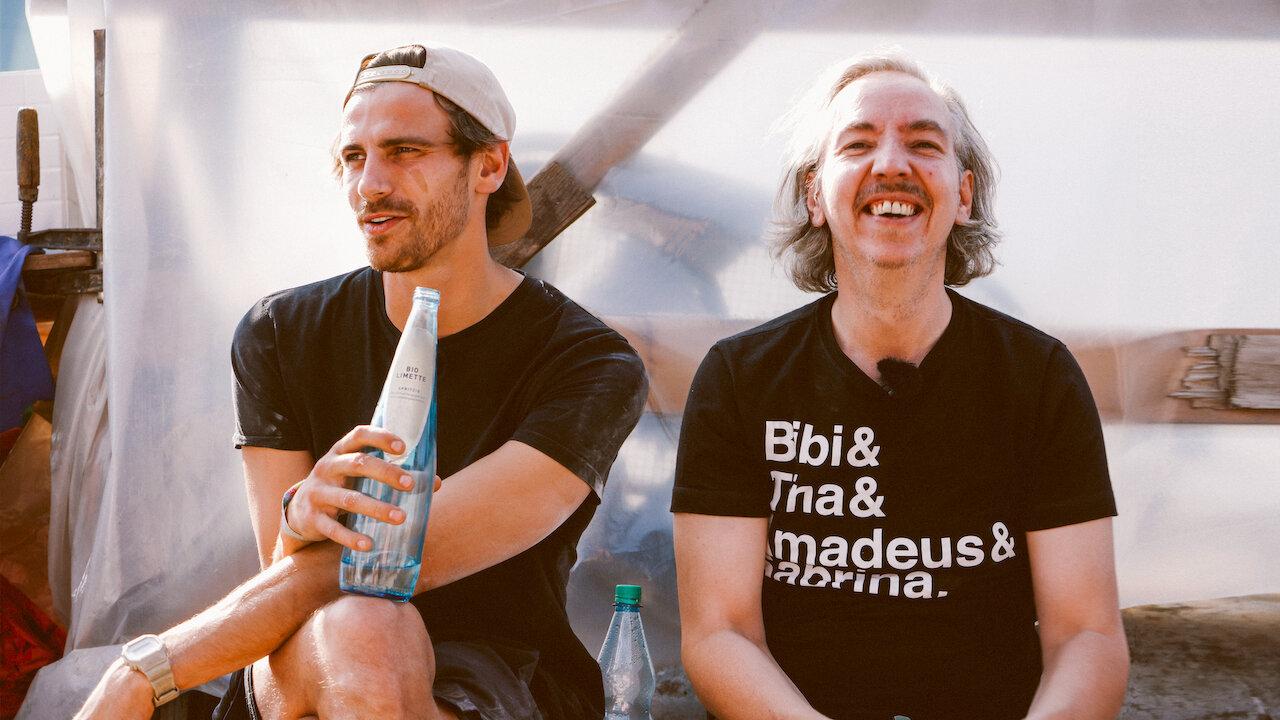 Fynn Kliemann und Olli Schulz in Das Hausboot