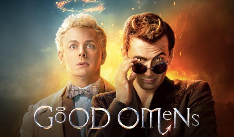 """Titelbild zur Kritik """"Good Omens"""" Staffel 1"""