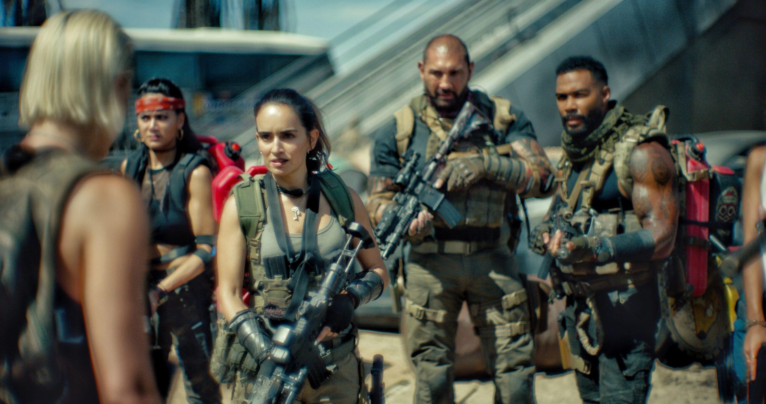 Dave Bautista in einem Szenenbild aus Army of the Dead in einer Kritik von 4001reviews