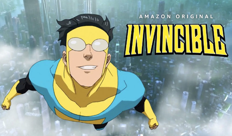 "Titelbild zur Kritik: ""Invincible"" Staffel 1"