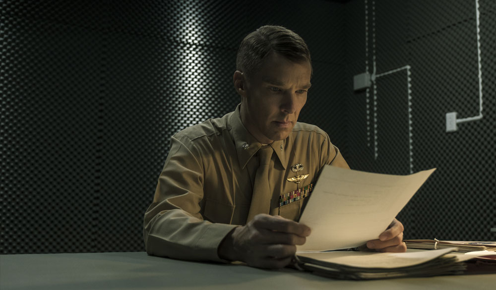 Benedict Cumberbatch als Stuart Couch, der Anwalt der Anklage.