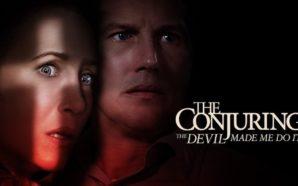 Poster zu Conjuring 3 Im Bann des Teufels mit Vera Farmiga und Patrick Wilson