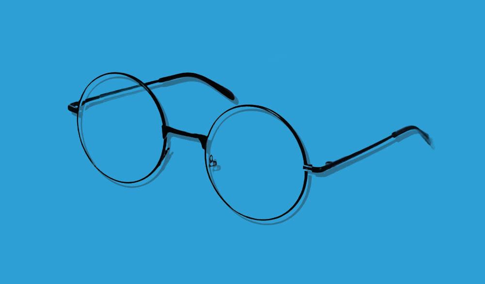Harry Potter Rundbrillen für eine Themenparty