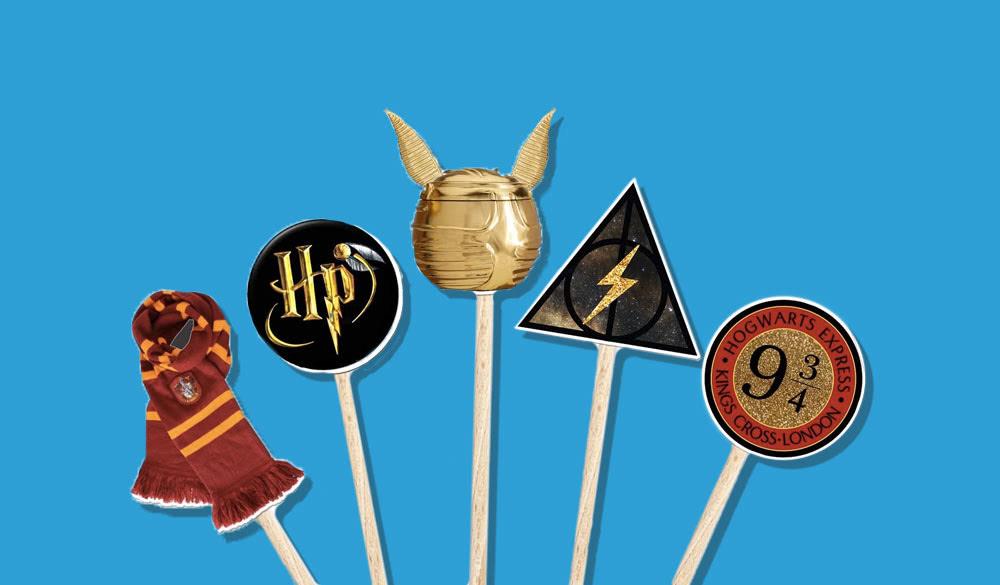 Harry Potter Cupcake Picks