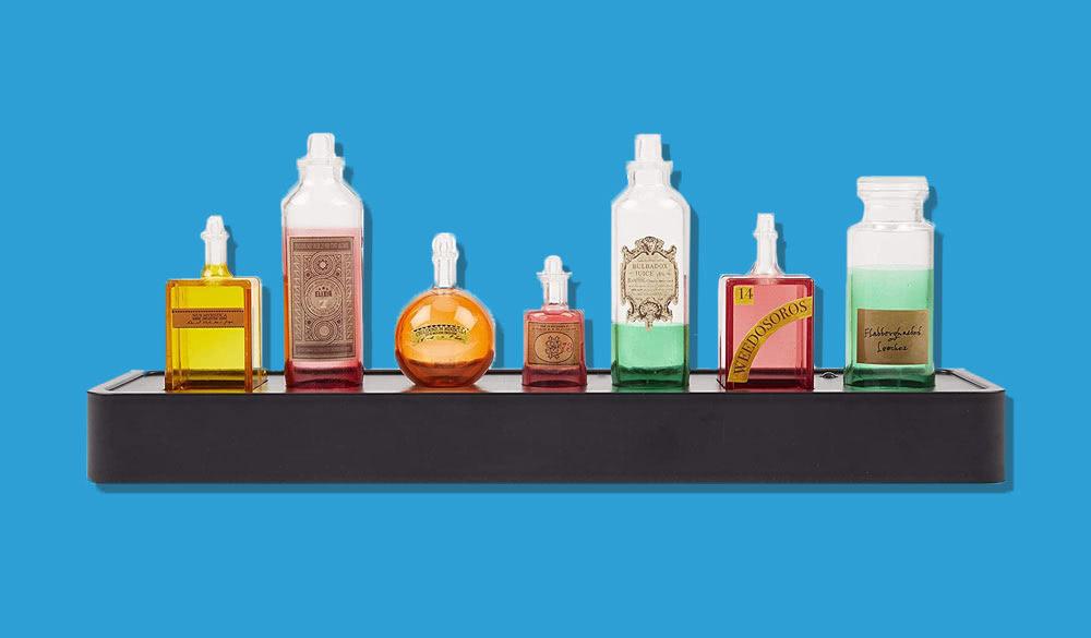 Harry Potter Zaubertrank Flaschen für das Regal