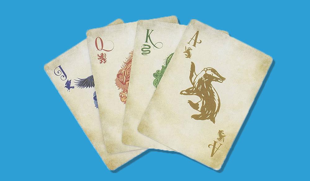 Harry Potter Spielkarten Set für Themenparty
