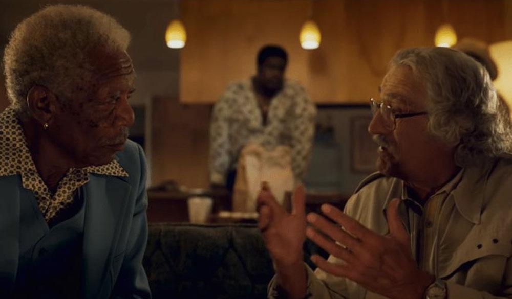 Morgan Freeman und Rober De Niro in Kings of Hollywood
