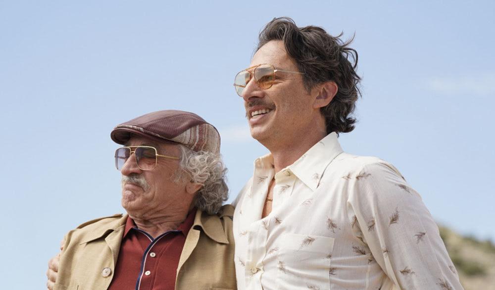 Robert De Niro und Zach Braff in Kings of Hollywood