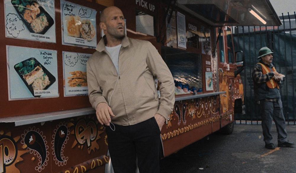 Transporter-Star Jason Statham als H in Guy Ritchies Cash Truck (2021)