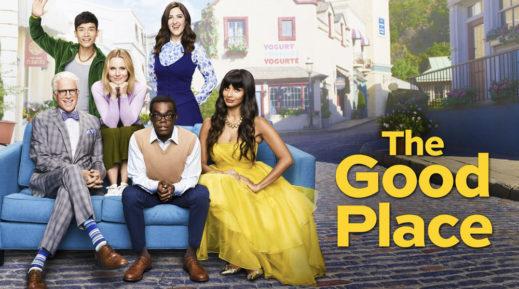 "Titelbild zur Kritik: ""The Good Place"" Staffel 1-4"