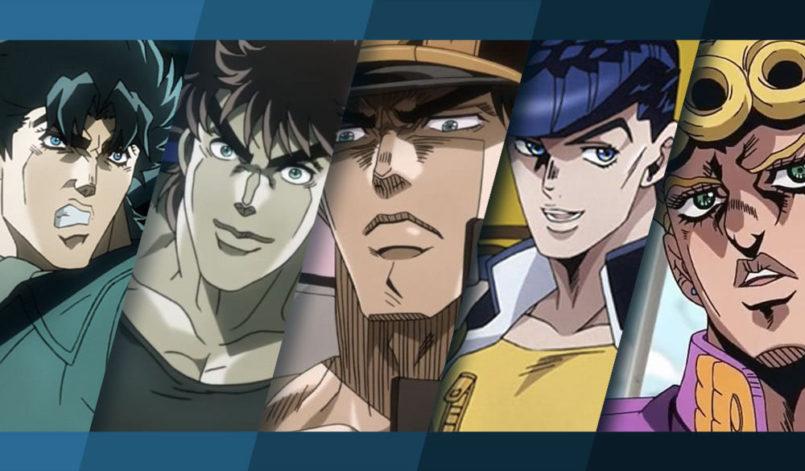 Alle fünf Jojo's auf einem Bild